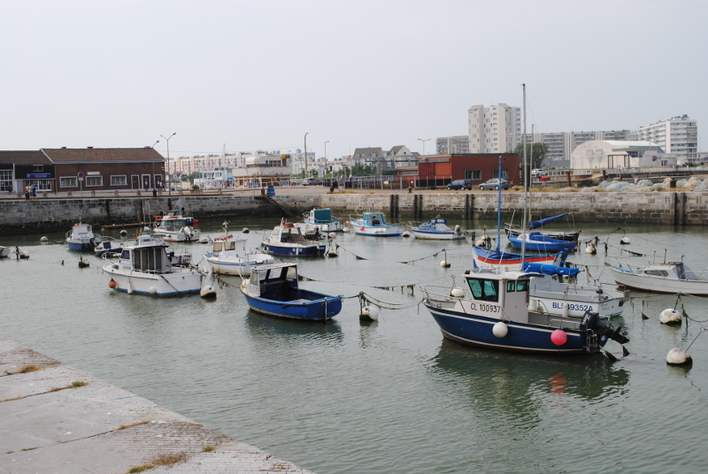 Calais harbour tidal water
