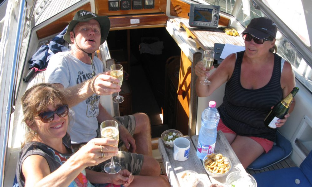 Champagne, please – we have reached the Mediterranean