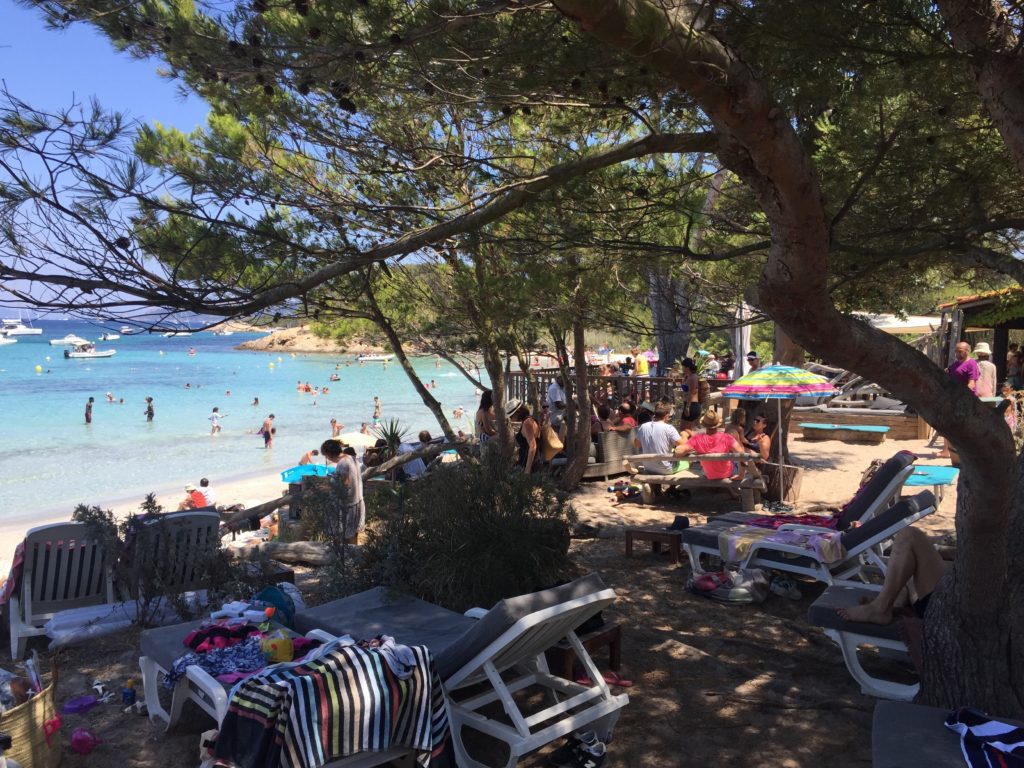 Porquerolles beach France