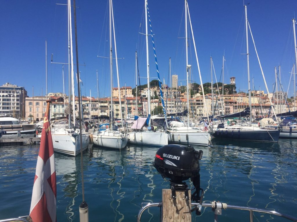 Cannes marina France