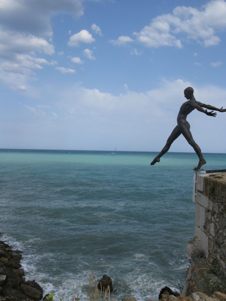 Antibes seaside art