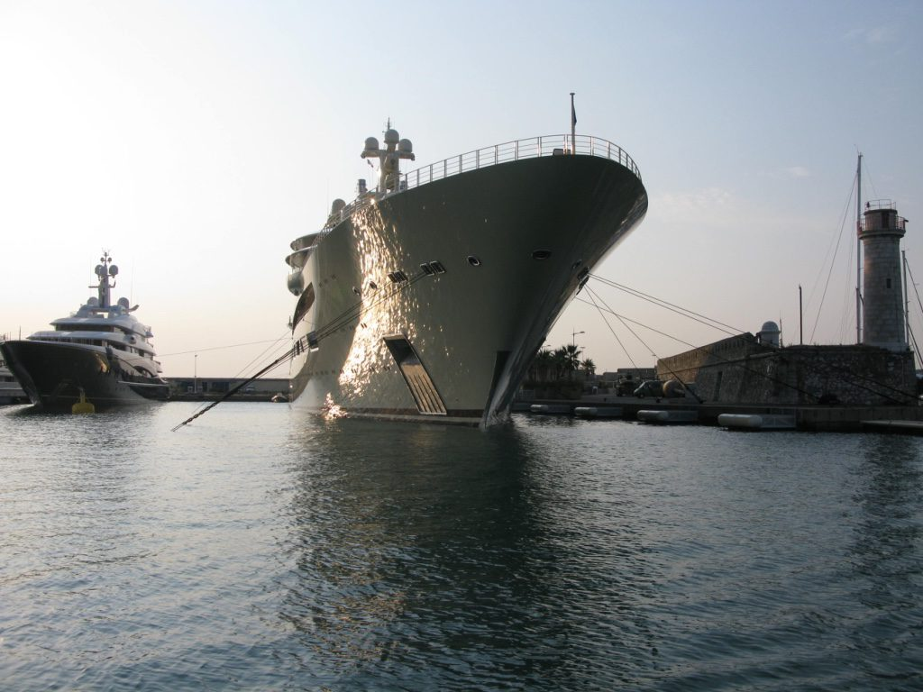 Dilbar super-yacht russian billionaire
