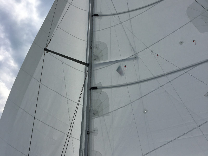 Under brand new sails cruising the Levant – ahead of the spring
